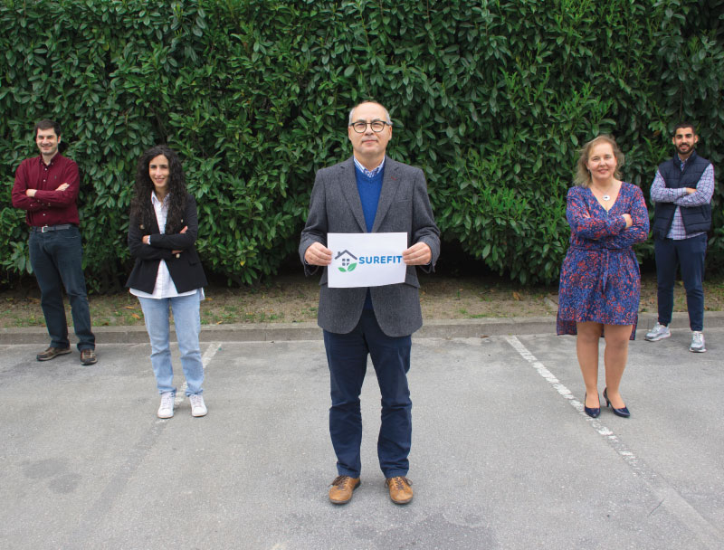 """CJR Group participates in CJR Group participates in """"Surefit Project"""": a European´s programme dedicated to Sustainability Solutions"""