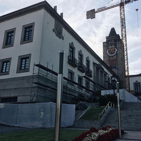 Reabilitation of PASSOS CONCELHO PÓVOA LANHOSO buildings